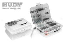 HUDY 298011 Hardware Box Double Sided contenitore   XRAY SERPENT MUGEN KYOSHO