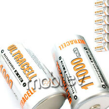 8 x D Ni-MH 11000mAh Rechargeable Battery Ultra cell 1