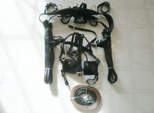 Tough-1 MINI MINIATURE HORSE BLACK LEATHER DRIVING HARNESS FOR SHOW OR PLEASURE