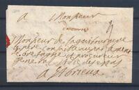 """1714 Lettre """"devannes"""" Manuscrit LENAIN N°1A MORBIHAN(54) SUP P4068"""