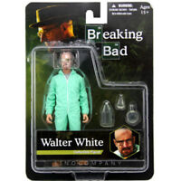 """New 6"""" Breaking Bad Walter White Hazmat Suit Action Figure movies toy sealed box"""