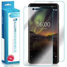 2x iLLumi AquaShield Front + Back Panel Protector for Nokia 6