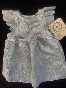 Bond & Co. Silver Dog Dress Size XSmall Nwt