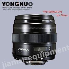 YONGNUO YN100MM F2N Large Aperture LENS For Nikon D7200 D5200 D5100 D7100 D5000