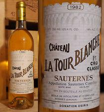 1982er Chateau La Tour Blanche-Sauternes-Gnam-gnam ***