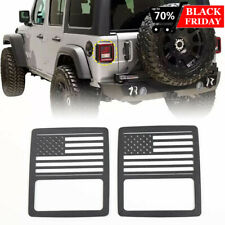 Tail Light Cover Guard Us Flag For Jeep Wrangler Unlimited Jl Sportsports 2018 Fits Jeep