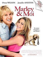 Affiche Pliée 120x160cm MARLEY ET MOI (2009) Owen Wilson, Jennifer Aniston NEUVE