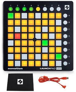 Novation LAUNCHPAD MINI MK2 MKII USB MIDI DJ Controller 64-Pad+Ableton Live Lite