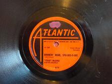 STICK MCGHEE & HIS BUDDIES Drinkin Wine Spo-Dee-O-Dee 78 rpm ATLANTIC 1949 BLUES