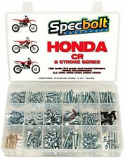 SPECBOLT 340pc Honda CR Bolt Kit CR60 CR80 CR85R CR125 CR250 CR500 CR125R CR250R