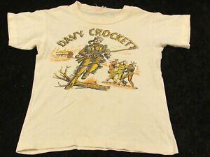 Rare HTF Vintage 1950s Davy Crockett & Indians Children's T Shirt