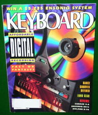 1992 KEYBOARD Magazine, ENSONIQ DP/4 Roland R-70 Reports, LAS VEGAS GIGS Digital