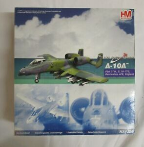 Hobby Master HA1305 1:72 A-10A 511th TFS Bentwaters Diecast Model Aeroplane
