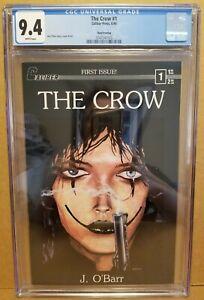 THE CROW #1 CGC 9.4 (NM) 3RD PRINT CALIBER PRESS 1989 JAMES O'BARR HIGH GRADE!