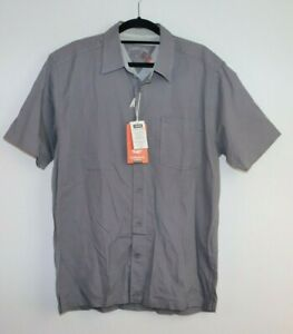 Men's Cardinal Casual NWT Short Sleeve Button Up Shirt Size L
