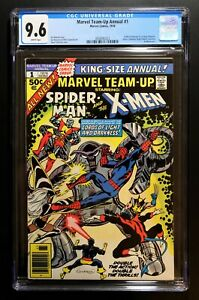 MARVEL TEAM-UP ANNUAL #1 CGC 9.6 - WP  *EARLY NEW X-MEN APP. * NEWSSTAND EDITION