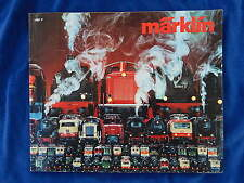 MARKLIN - TRAIN - CATALOGUE / Catalog - VINTAGE - 1981F - TOP !