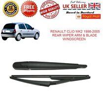 RENAULT CLIO 2 MK2 1998-2005 REAR WIPER ARM & BLADE WINDSCREEN NEW