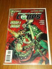 GREEN LANTERN CORPS #5 DC COMICS NEW 52 NM (9.4)