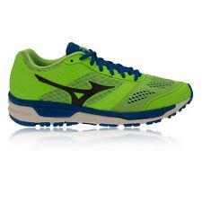 Chaussures verts Mizuno pour fitness, athlétisme et yoga
