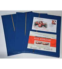3 x A4/16 weiße Seiten Briefmarkenalbum Einsteckbuch mit Schuhmacher Beleg