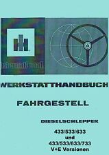 Werkstatthandbuch Fahrgestell IHC 433 533 633 733 833 MI