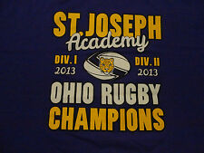 SAINT JOSEPH RUGY Catholic Church School T Shirt NWOT size XL FREE Shipping