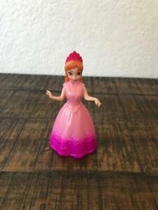 "2009 Mattel Polly Pocket Disney Princess Magic Clip Anna 4"" Loose Figurine"