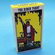 78 Card Rider Waite Tarot Deck - Booklet Included - Free Velvet Pouch