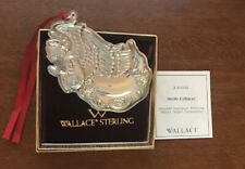 Wallace Silversmiths Sterling Silver 2006 Annual Grande Baroque Angel NEW