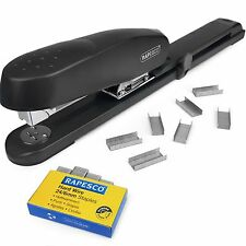 Rapesco Heavy Duty Long Arm Stapler 790 + Rapesco 24/6mm Staples (Box 1,000)