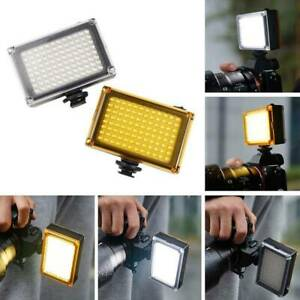 Andoer AD-96 Video LED Light Lamp Filters Canon Nikon DSLR SLR Camera
