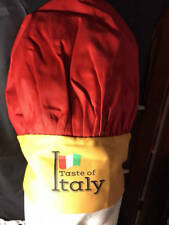 Taste of Italy~Adjustable Chefs Hat*Nwot