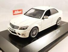 """Schuco 1:43 - Mercedes Benz C63 AMG """"concept white"""" - 04928"""