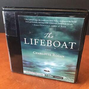 The Lifeboat Charlotte Rogan Audio Book CD Set Unabridged Fiction Novel