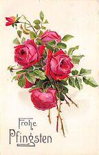 BG3845 pfingsten Pentecost flower germany greetings