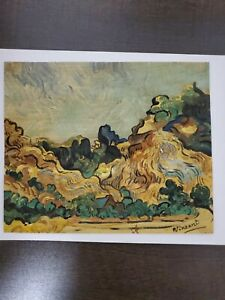 Vincent Van Gogh - Painting: signed w/ COA