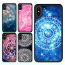 iPhone X 8 8 Plus 7 6 6s 5s SE Case Mandala Floral Pattern Bumper Print Cover