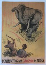 """Vintage Original Fred Bear Archery """"Bowhunting with Fred Bear in Africa"""" Comic"""