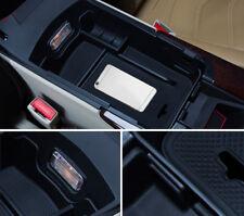 for Cadillac XTS  2013-2017 Black Accessories Armrest Storage organizer Box 1PCS
