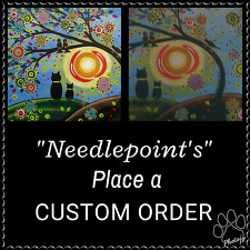 """Order your own Custom needlepoint from your photos at """"No Extra Charge"""" ! $29.99"""