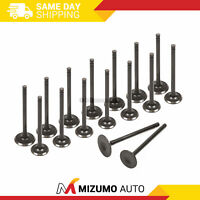 Intake Exhaust Valves Fit 94-02 Honda Accord Odyssey Acura CL F22B1 F23A1 F23A4