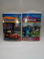 Vtech Mobigo Disney Pixar Monsters University & Cars V-Reader Touch Learning