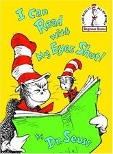 I Can Read With My Eyes Shut! (Beginner Books) by Dr. Seuss