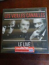 Les Vieilles Canailles  l'Album Live édition limitée numéroté