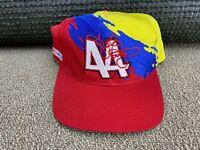 Kyle Petty Logo 7 Splash Hat Snapback Cap NASCAR Hot Wheels Racing shirt VTG