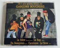 LES GARCONS BOUCHERS : LES CINQ PLUS GROSSES BETISES ♦ CD Single ♦