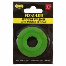 Fix-A-Loo Seating Washer Suits Fowler 'K' Valve - Green, Australian Brand