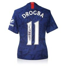 More details for didier drogba signed chelsea 2019-20 shirt