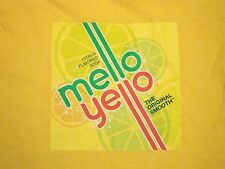 Mellow Yellow Coke Cirtus Lemon Lime Flavor Soda Pop T Shirt L